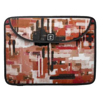Capa Para MacBook Pro Weave pintado - vermelho
