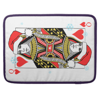 Capa Para MacBook Rainha do Feliz Natal dos corações