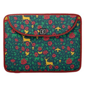 Capa Para MacBook Símbolos da vida de Frida Kahlo |