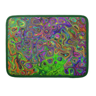 "Capa Para MacBook Swirly modelou a pro luva 13"" de Macbook"