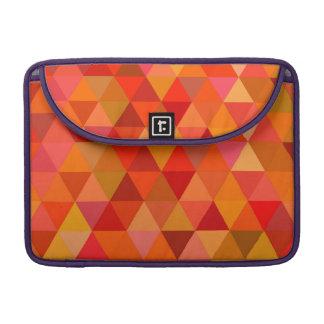 Capa Para MacBook Triângulos quentes do sol
