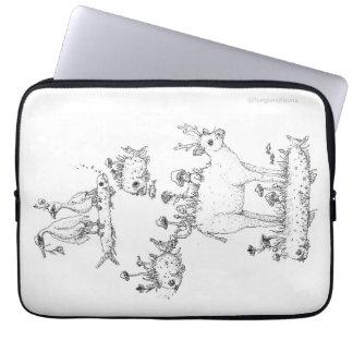 Capa Para Notebook A bolsa de laptop