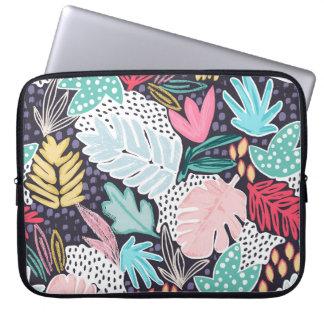 Capa Para Notebook A bolsa de laptop colorida do teste padrão da