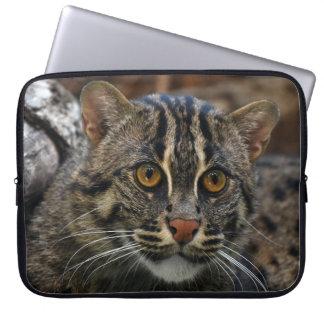 Capa Para Notebook A bolsa de laptop com impressão do gato bonito da