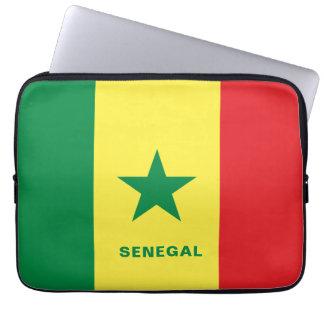 Capa Para Notebook A bolsa de laptop da bandeira de Senegal