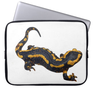 Capa Para Notebook A bolsa de laptop da salamandra de fogo