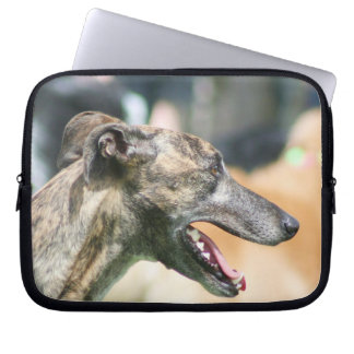 Capa Para Notebook A bolsa de laptop do cão do galgo