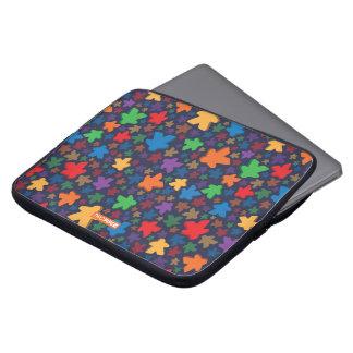 Capa Para Notebook A bolsa de laptop do impressão de Meeple