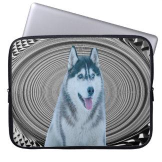 Capa Para Notebook A bolsa de laptop do lobo