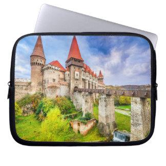 Capa Para Notebook A bolsa de laptop do neopreno castelo de um Corvin