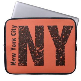 Capa Para Notebook A bolsa de laptop do neopreno de New York 15