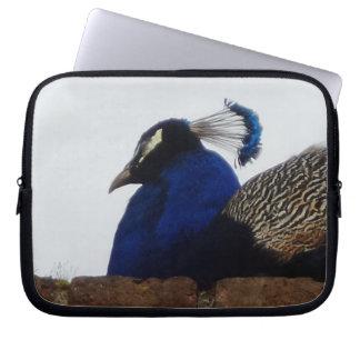 Capa Para Notebook A bolsa de laptop do neopreno do pavão 10