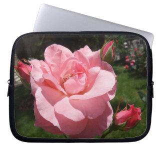 Capa Para Notebook A bolsa de laptop do neopreno do rosa do rosa 10