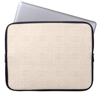 Capa Para Notebook A bolsa de laptop ornamentado cor-de-rosa e de