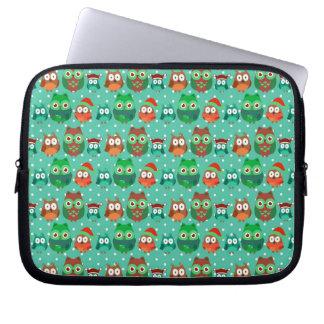 Capa Para Notebook A bolsa de laptop verde do neopreno 10 polegadas