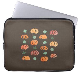 """Capa Para Notebook Abóboras com a bolsa de laptop 13"""" das folhas"""