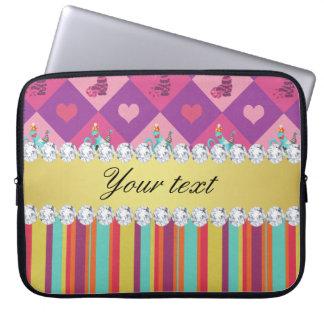 Capa Para Notebook Alice colorida no país das maravilhas e nas