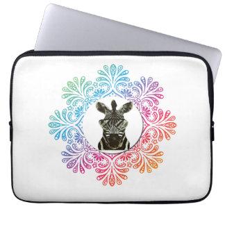 Capa Para Notebook Animal do estilo da zebra do hipster
