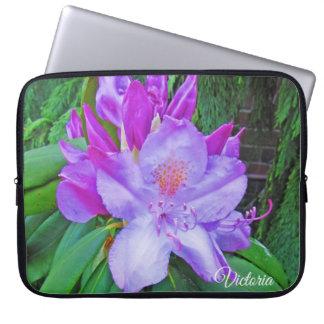 Capa Para Notebook Azálea Lilac-Colorida bonito