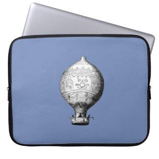 Capa Para Notebook Balão de ar quente do vintage de Montgolfier