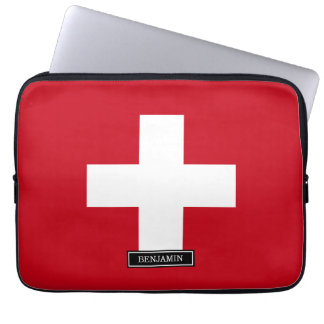 Capa Para Notebook Bandeira da suiça