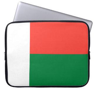 Capa Para Notebook Bandeira de Madagascar