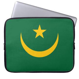 Capa Para Notebook Bandeira de Mauritânia