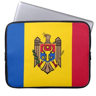 Capa Para Notebook Bandeira de Moldova