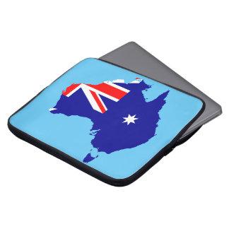 Capa Para Notebook Bandeira de país australiana