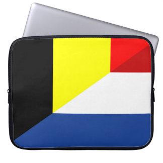 Capa Para Notebook bandeira de país da bandeira de Bélgica do