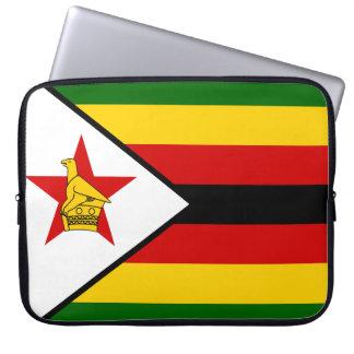 Capa Para Notebook Bandeira nacional do mundo de Zimbabwe