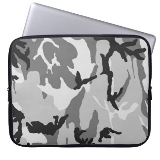 Capa Para Notebook Black&White Camo