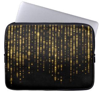 Capa Para Notebook Brilho & sparkles Glam do ouro
