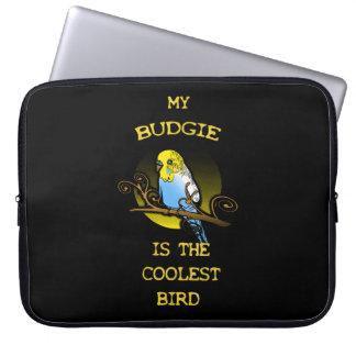 Capa Para Notebook Budgie é o pássaro o mais fresco
