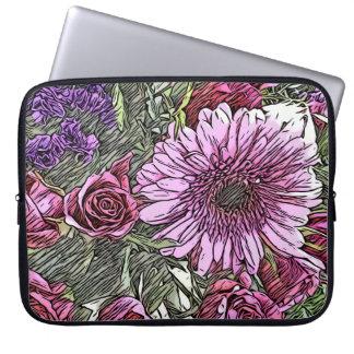 Capa Para Notebook Caso floral do iPad