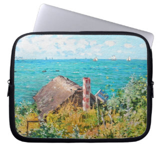 Capa Para Notebook Claude Monet a cabine em belas artes do