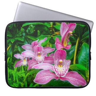 Capa Para Notebook Cobrir artístico da orquídea