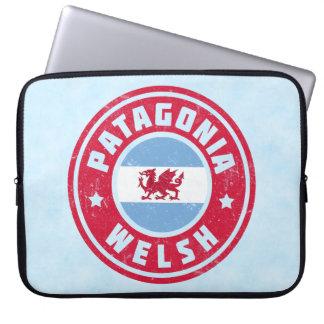Capa Para Notebook Cobrir do laptop da bandeira de Galês do Patagonia