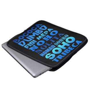 Capa Para Notebook Cobrir do laptop dos acrônimos da Nova Iorque