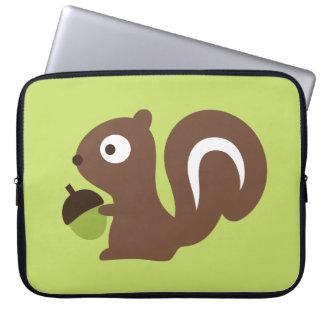 Capa Para Notebook Design bonito do esquilo do bebê