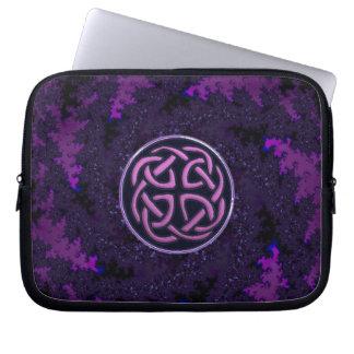 Purple Celtic Knot Fractal Design