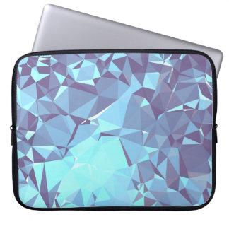 Capa Para Notebook Design geométrico elegante & limpo - pombo em