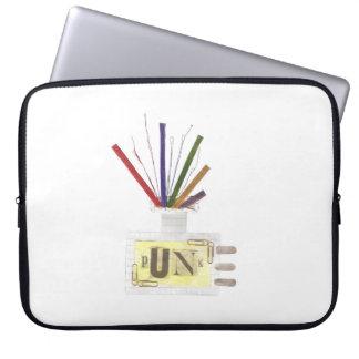 Capa Para Notebook Difusor da sala do punk a bolsa de laptop de 15