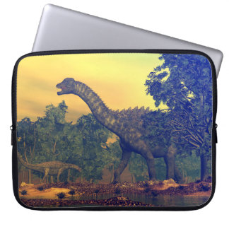 Capa Para Notebook Dinossauros do Ampelosaurus