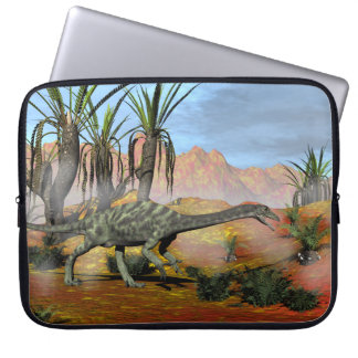 Capa Para Notebook Dinossauros do Anchisaurus - 3D rendem