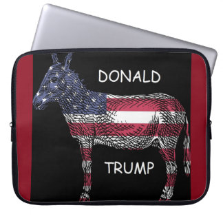 Capa Para Notebook Donald Trump - que asno