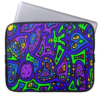 Capa Para Notebook Doodle #2 do espaço