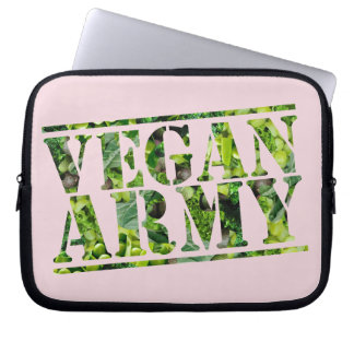 CAPA PARA NOTEBOOK EXÉRCITO DO VEGAN