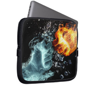 Capa Para Notebook Fogo e água