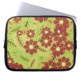 Capa Para Notebook Folha e flores